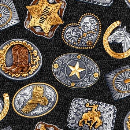 Wild Wild West 5348-99 Rodeo Buckles