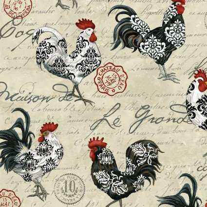 Le Poulet - Chickens on Cream