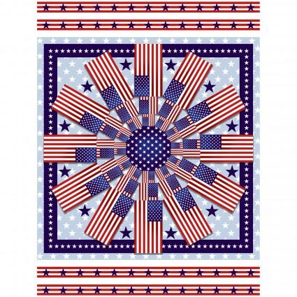 American StylePatriotic 36 Medallion Panel 5497P-78