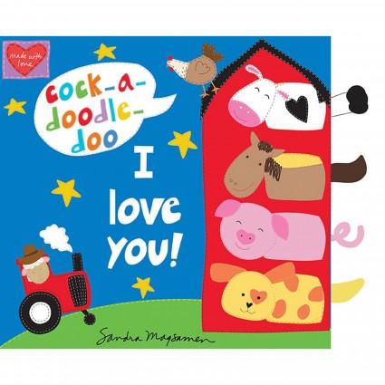 Cock-A-Doodle-Do I Love You Book Panel