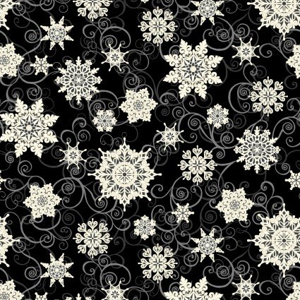 108 Frozen Melodies Black