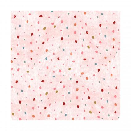 Dream Catchers Pink Dots Flannel