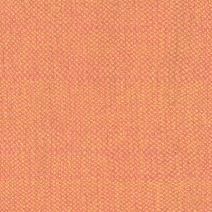 Fabric Peppered Cotton 69 Tangerine
