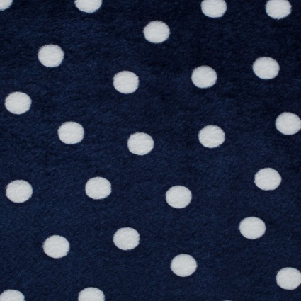 Print Cuddle 60 Navy Dots