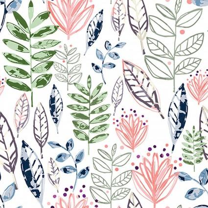 Cuddle Shannon Studio - Modern Leaf Blossom