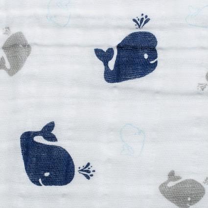 Embrace Cotton Prints Whales
