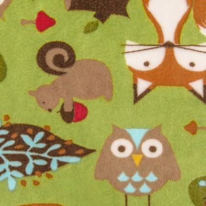 Cuddle Shannon Studio Forest Tails - Kiwi
