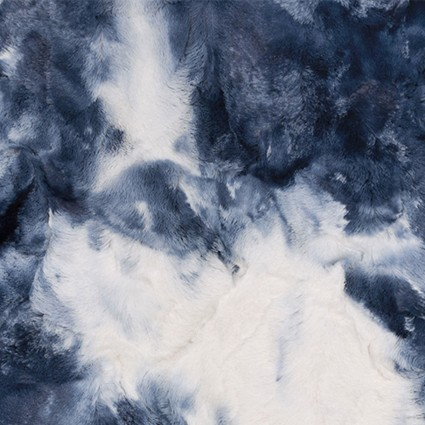 Cuddle Luxe Sorbet Blue Print LCSORBET-BLUE PRINT