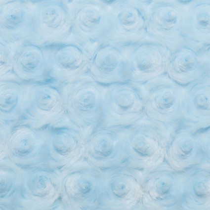 Luxe Cuddle Rose Baby Blue