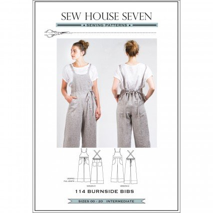 SEW HOUSE SEVEN PATTERNS - Burnside Bibs