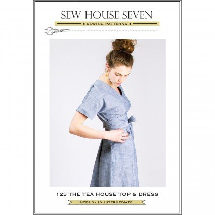 SEW HOUSE SEVEN PATTERNS - The Tea House Top & Dress
