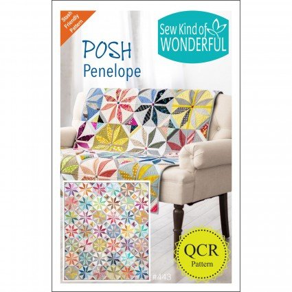 SKW443 Posh Penelope QCR Pattern by Sew Kind of Wonderful