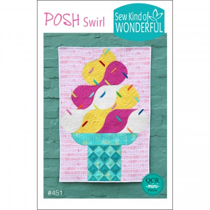 Posh Swirl Pattern by Sew Kind of Wonderful