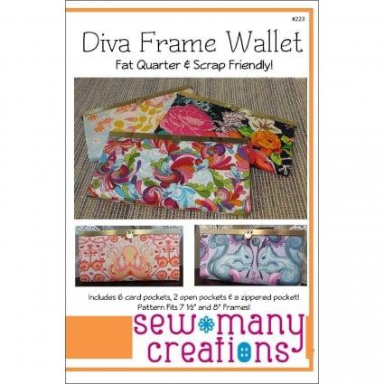 Diva Frame Wallet Pattern