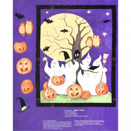 Panel 73 Ghost Story Wall Hanging