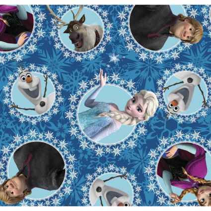Springs Creative - Frozen 2 - Best Friends Fleece