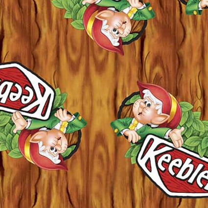 Keebler Elf in Tree