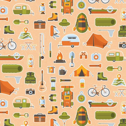 Let's Go Camping 63929 Bare Necessities Flagstone