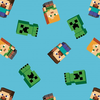 Minecraft SPR67253-6510715 Villagers and Creepers