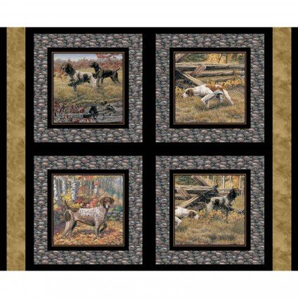Show Dogs Pillow Panel<br/>Springs Creative 68445-A62