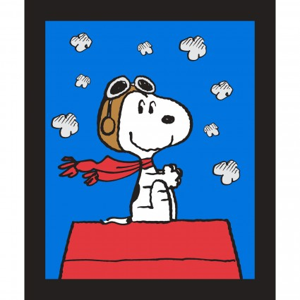 Snoopy Red Baron Panel<br/>Springs 69757-160