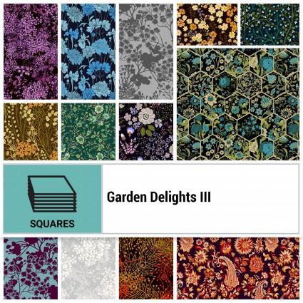 Garden Delights III - 10 Squares
