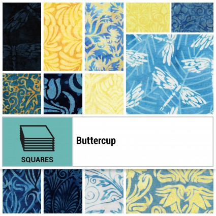 SQ-ISBBUT, Buttercup 42 pcs, 10 Squares