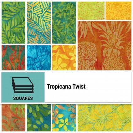 SQ-ISBTRT, Tropicana Twist 42 10 Squares