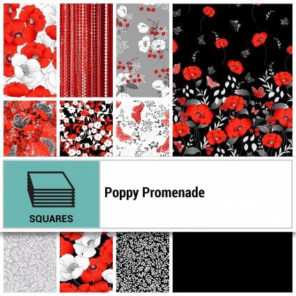 Poppy Promenade Layer Cake