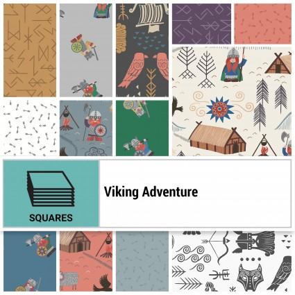 Lewis & Irene Viking Adventure 10 Squares