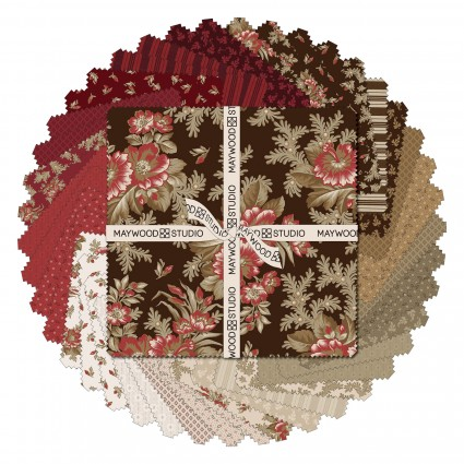 10 Squares Ruby Collection 42pcs