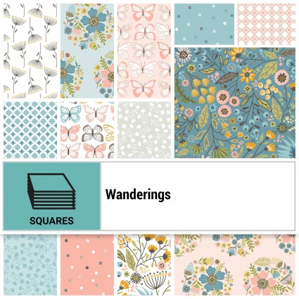 Wanderings - 10 squares