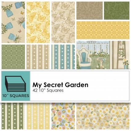 My Secret Garden - 10 Squares
