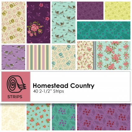 Homestead country - 2.5 in strips