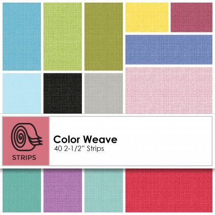 Color Weave 2.5 Strips