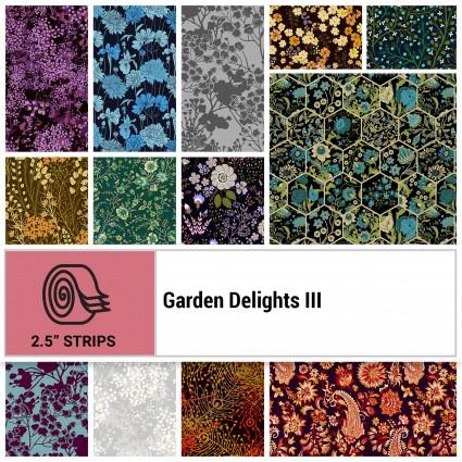 Garden Delights III -- 2-1/2 strips (40)