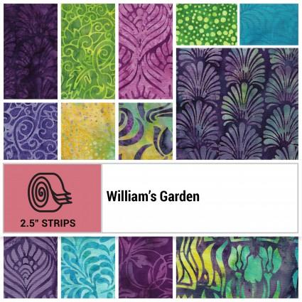 ST-ISBWIG, William's Garden, 40pcs 2.5 Strips