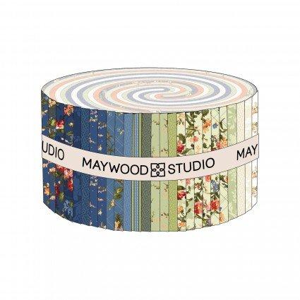 MAYWOOD Belle Epoque 2-1/2 IN STRIPS, 42 PCS