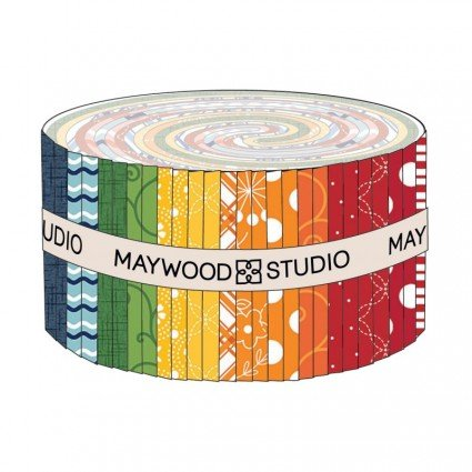 Maywood Studio KimberBell Basics - Kim's Picks Summer 2.5 Inch Strips