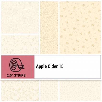Apple Cider 15 -  2 1/2 Strip packs