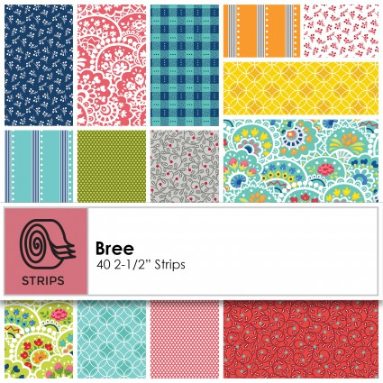 Benartex - Bree 2.5 Strips - ST-BENBRE