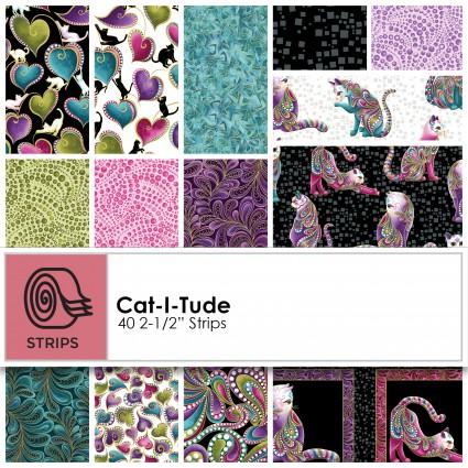 Ann Lauer - Cat-I-Tude 2.5 Strips (40pcs) - ST-BENCTT
