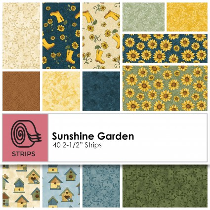 Sunshine Garden - 2.5 Strips