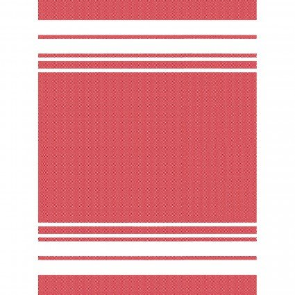 E Towel Border Stripe