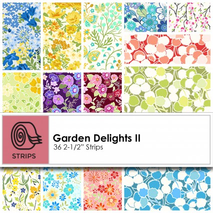 Garden Delights II 2.5 strips