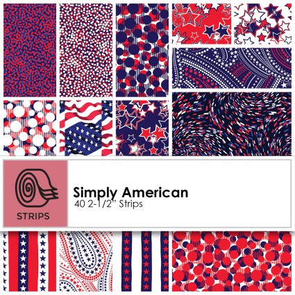 Simply American - 2.5 Strips