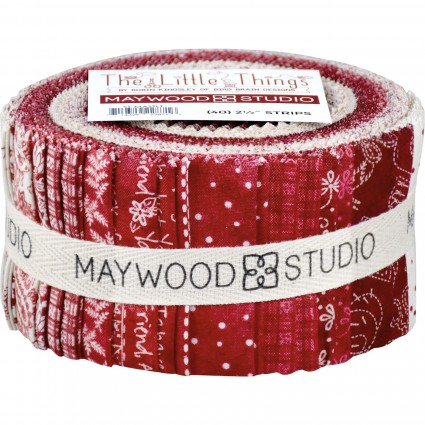 The Little Things Christmas Fabric Strips - 40 2 1/2 strips