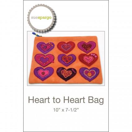 Heart To Heart Bag - Sue Spargo
