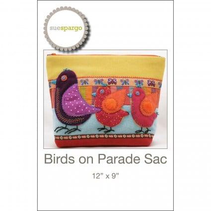 Birds on Parade - Pattern