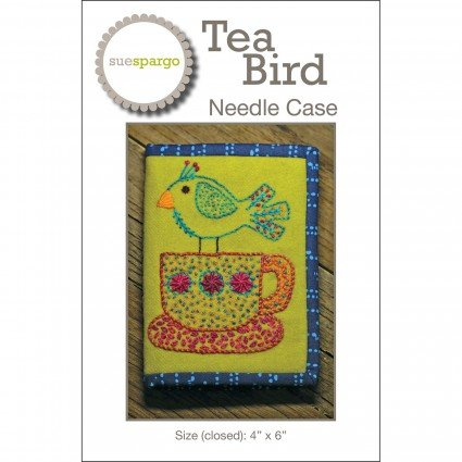 Tea Bird Needle Case